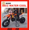 New 50cc 2 Stroke Engine Water Cooling off Road Motorcycle