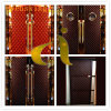 China Embroidery Patterns Artificial Leather PU PVC Soft Leather
