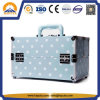 PU Leather Travel Makeup Case Luggage Attached Case (HB-6301)