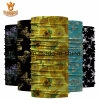 Beautiful Micro-Fiber Floral Printing Magic Custom Seamless Tube Bandana