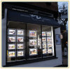 Crystal LED Light Pocket for Estate Agent Window Displays