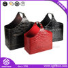 Premium Crocodile Skin Hamper Leather Gife Box