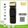 1d 2D Laser Barcode Scanner WCDMA GSM Handheld Printer Zkc3502