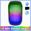 Portable Mini Wireless Bluetooth Pulse Speaker with Colorful LED Lights Support TF Cards FM Radio