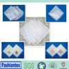 Plain White Cotton Fabric Linen Embroidery Wedding Handkerchief
