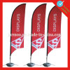 Outdoor Durable Polyester Feather Flag