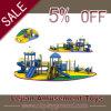 Castle Theme Climbing Commercial Outdoor Kids Plastic Slides (X1519-7)