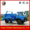 Diesel Euro3 4*2 Hydraulic Swing Arm Garbage Truck