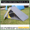 2 Person Double Layer Aluminum Rod Triangle Camping Tent