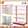 Metal Supermarket Wall Shelving Storage Shop Wire Display Shelves (Zhs398)