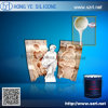 Plaster Products Molds Making by Liquid Silicone Rubber