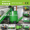New designed pet bottle flakes recycling machine