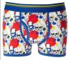 2016 BSCI Oeko-Tex 100 Men′s Underwear Boxer with Print 031904