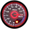 "2 3/8"" (60mm) Auto Gauge for Dual Color LED Oil Gauge (626)"