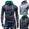 Autumn Athletic Men′s Long Sleeve Casual Hoodies (A501)