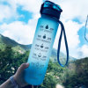 Wholesale Custom Logo Eco Friendly Plastic Sport Water Bottle with Time Marking