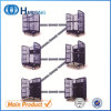 Customized Powder Coated Foldable Rolling Cage