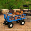 Four Wheel Garden Cart Rolling Tool Cart Tc1840