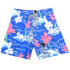 Customize Mens Dye Sublimated Beach Shorts Board Shorts with Quick Dry Fabric