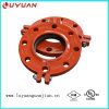 Grooved Pipe Fitting Split Flange for Fire Fighting Piping
