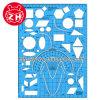 Plastic Geometry Template Ruler
