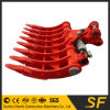 Excavator Attachments Hydraulic Tilting Rake, Excavator Rake