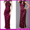 Fashion Sexy Mermaid Lace Embroidered Women Long Party Dress Bodycon Dresses