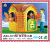 Plastic Toy Little Bear House (JMQ-K156K)