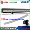 Single Row Curved 5W CREE LED Light Bar