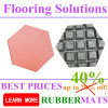 Hexagonal Shape Rubber Tiles for Outdoor Park Playground Flooring