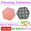 Hexagonal Shape Rubber Tiles for Outdoor Park Playground Flooring