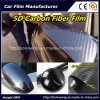 Hot Sell! ! ! High Glossy Black 3D Texture 5D Carbon Fiber Car Wrap Film
