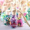 New Design Hanging Car Perfume Bottle with Wooden Cap