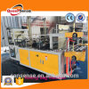 Two Layer Point Cutting Bag Making Machine Rolling Garbage