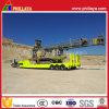 Low Deck Front Loading Lowbed Trailer for Equipment Transport