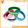 Factory Wholesale Silicone Bracelet and Silicone Wristband with Debossed /Embossed Rubber Band (YB-HR-380)