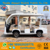 Mini 8 Seater Electric Sightseeing Car for Tourist with Ce Certifivate
