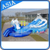 Giant Inflatable Elephant Water Park, Water Slide with Pool Water Park Games