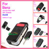 Auto Remote Flip Key Shell for Benz with 4 Button Panic Switchblade Hu64