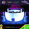 Rechargeable Bar Furniture Lighted LED Circular Bar Section