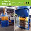 Plastic bags and bottle Vertical Hydraulic baler machine