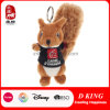 Cute Promotion Toy Squirrel Stuffed Animal Plush Keychain Toy