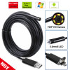 New 8mm HD 720p Android Endoscope 6 LED Waterproof Borescope Inspection 2 in 1 HD Camera