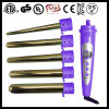 PRO Purple LCD 5p Hair Curler Removable Heads