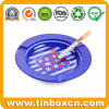 Custom Round Metal Tin Ashtray with Customized Logo Printing