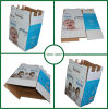 Double Wall Corrugated Shipping Carton Box for Purified Water Packaging