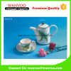Custom Design Decal Ceramic Teapot Tea Set with Cup