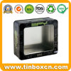 Rectangular Tin with PVC Window, Tin Box Packaging