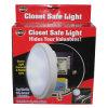 Wireless Light with Concealed Safe Diameter Closet Safe Light