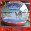 Giant Inflatable Christmas Snow Globe with Advertising Background